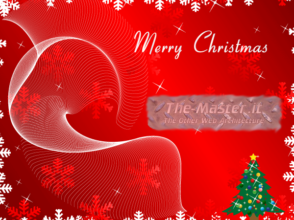 "Auguri di Buon Natale da ""The-Master.it - The Other Web Architecture""!"